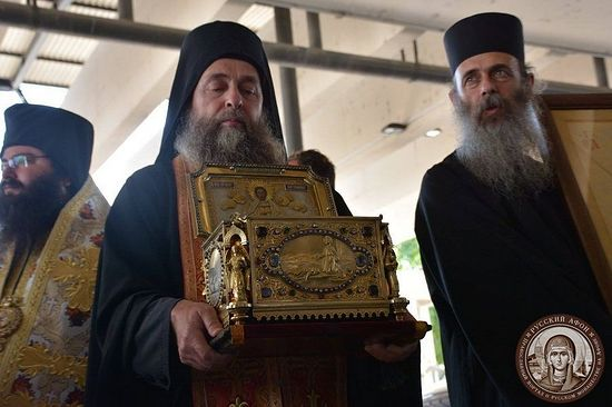 Les reliques de saint Pantéléimon ont été amenées en Bulgarie depuis le Mont Athos