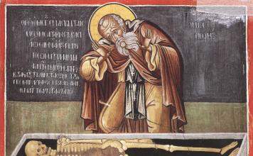 Saint Sisoès le Grand, ascète au désert de Scété (429)