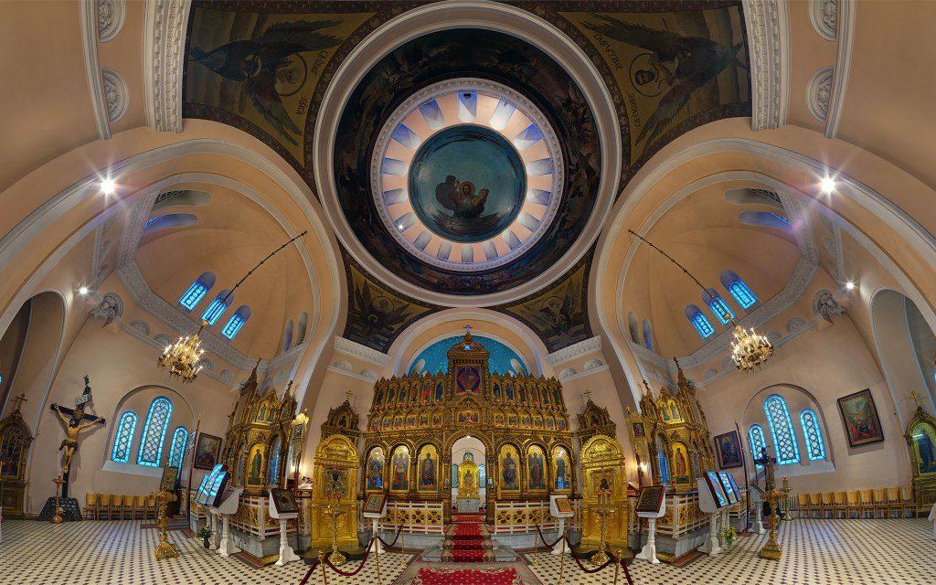 Panoramas interactifs des églises d'Estonie du Patriarcat de Moscou