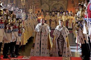 Des orthodoxes protestent à Moscou, avec le soutien de l'higoumène du monastère athonite de Saint-Pantéléimon, contre un film déshonorant le tsar-martyr Nicolas II