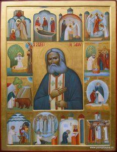La vénération de saint Séraphin de Sarov dans l'Église orthodoxe roumaine
