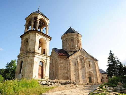 En Géorgie, la restauration de l'église de Nikortsminda, qui fait partie du patrimoine mondial de l'UNESCO, coûtera plus de 780.000 euros
