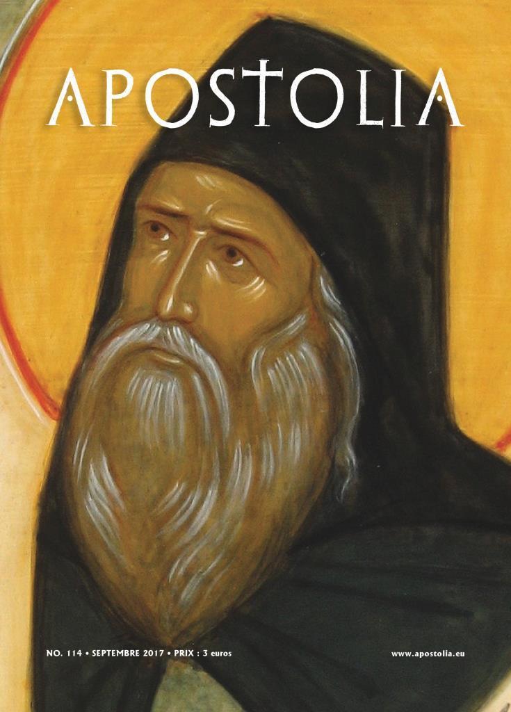 """Parution du n°114 (septembre 2017) de la revue """"Apostolia"""""""