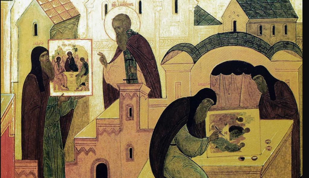 École d'iconographie orthodoxe Saint-André-Roublev
