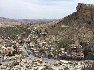 Les églises de Ma'loula (Syrie), pillées par les islamistes sont en cours de restauration