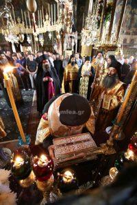 Fête de la Ceinture de la Mère de Dieu au monastère athonite de Vatopédi