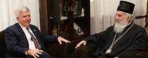 Le patriarche de Serbie a reçu l'ambassadeur des États-Unis à Belgrade