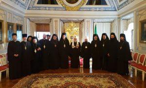 Le patriarche Cyrille de Moscou a reçu les membres du Comité des représentants des Églises orthodoxes auprès de l'Union européenne