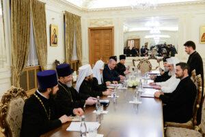 Pourparlers entre les primats des Églises orthodoxe russe et roumaine