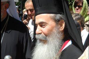 Le patriarche de Jérusalem Théophile III en visite à Rome
