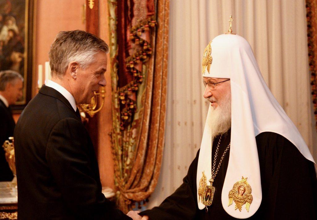 Le patriarche Cyrille a reçu le nouvel ambassadeur des États-Unis en Russie