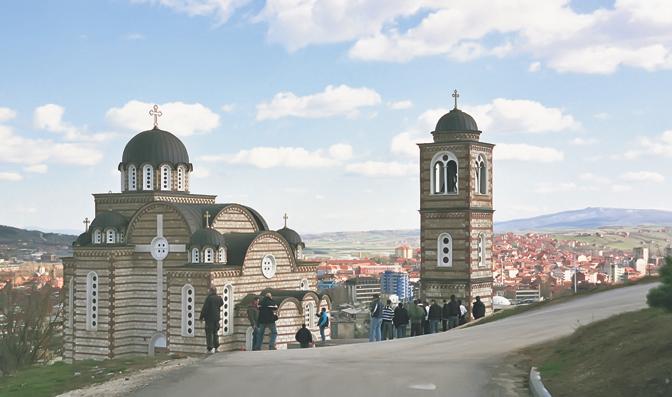 Une église orthodoxe serbe se trouvait sur l'ordinateur de Ben Laden