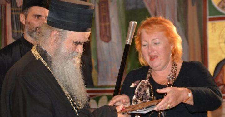 Mgr Amphiloque reçoit la médaille d'or « Pouchkine »