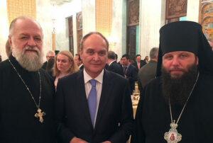 Mgr Hilarion rencontre les diplomates russes aux États-Unis