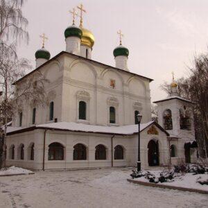 Alerte à la bombe au monastère Sretensky de Moscou
