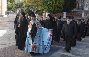 Le métropolite de Kiev Onuphre au Mont Athos