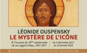 Exposition : « Léonide Ouspensky, le mystère de l'icône 1987-2017 »