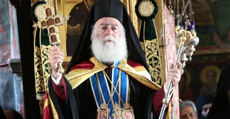 Patriarch Theodore of Alexandria decorated the Ukrainian Ambassador to Egypt