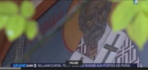 Un reportage de France 3 sur la présence russe à Boulogne-Billancourt