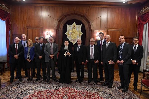 Visite au Patriarcat œcuménique du vice-ministre grec des Affaires étrangères