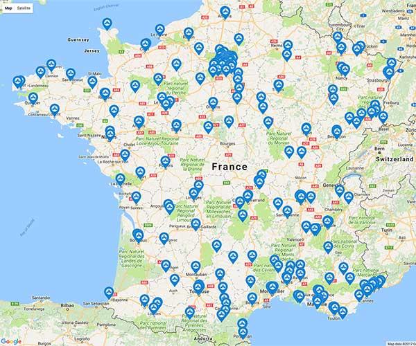 Adresses des lieux de cultes orthodoxes en France
