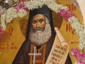 Fête de saint Philouménos au Puits de Jacob