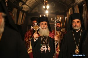 Message de Noël de Théophile III, patriarche de Jérusalem