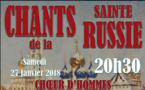 Chants de la sainte Russie – le 27 janvier à Saint-Pol-de-Léon