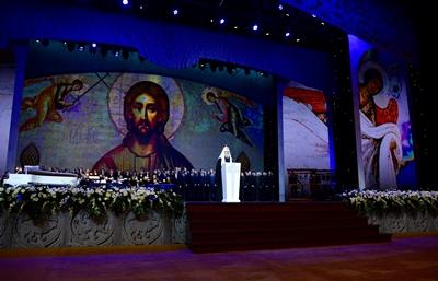 Concert au Kremlin pour le centenaire du rétablissement du Patriarcat en Russie