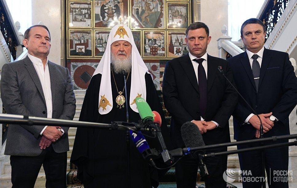 Le patriarche Cyrille annonce un accord sur l'échange de prisonniers au Donbass