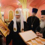 Patriarche Cyrille et patriarche Théophile - Orthodoxie.com