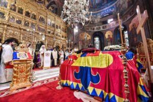 Le patriarche Daniel a célébré l'office des funérailles du roi Michel de Roumanie
