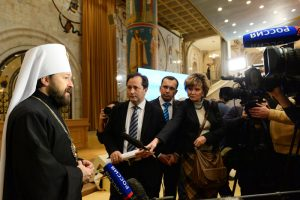 Le métropolite Hilarion : « Le dialogue doit toujours rester possible »