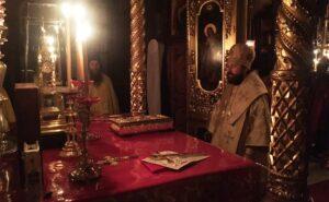 Fin du séjour du métropolite Hilarion au Mont Athos