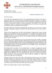 Lettre à Donald Trump - Orthodoxie.coma