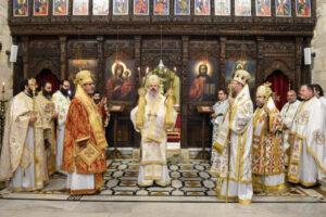 Visite du métropolite de Moldavie Théophane au Patriarcat d'Antioche