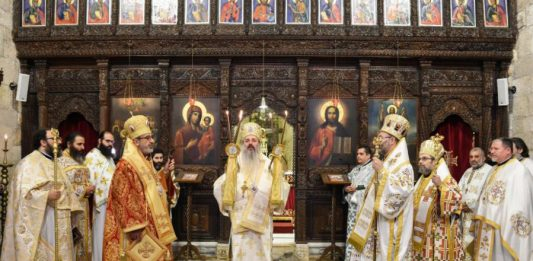 Le métropolite de Moldavie et de Bucovine Théophane à Antioche - Orthodoxie.com