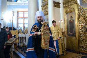 Le métropolite Hilarion : La sainte eucharistie est le repas de noces qui unit toute l'Église