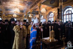 Le métropolite de Kiev Onuphre rappelle la mission principale du prêtre