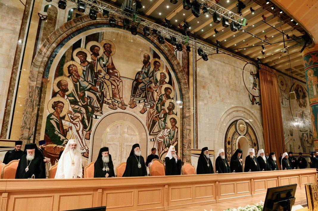 Patriarche Bartholomée et primats orthodoxes à Moscou - Orthodoxie.com
