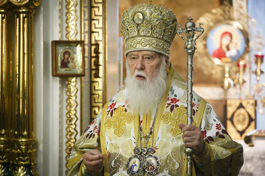Le « patriarche » Philarète considère que « le Patriarcat de Kiev n'a jamais été liquidé »