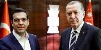 Alexis Tsipras et Erdogan - Orthodoxie.com