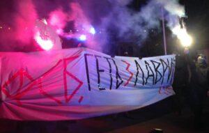 Des nationalistes ont bloqué l'entrée de la laure des Grottes de Kiev pendant plusieurs heures