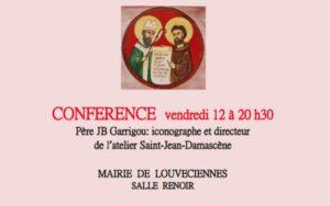 Conférence du père Jean-Baptiste Garrigou