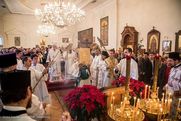 À New York, les orthodoxes russes et serbes ont fêté ensemble Noël