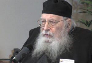 Décès de l'archimandrite Placide Deseille