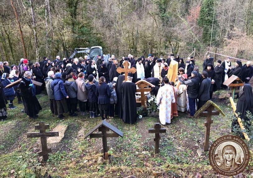 Funérailles du père Placide Deseille - Orthodoxie.com