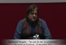 Bertrand Vergely Je suis la vie La présence- Orthodoxie.com