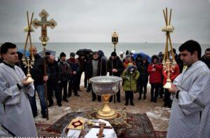Les hiérarques de l'Église orthodoxe d'Ukraine ont béni les eaux de la mer Noire et de la mer d'Azov