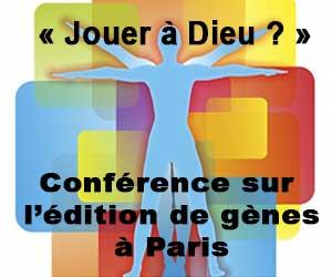 Conférence sur l'édition de gènes à Paris